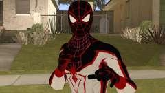 Spiderman Miles Morales(PS5) T.R.A.C.K suit para GTA San Andreas