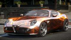 Alfa Romeo 8C BS L2 para GTA 4