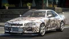 1999 Nissan Skyline R34 GT-R L2 para GTA 4