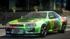 1999 Nissan Skyline R34 GT-R L3 para GTA 4
