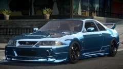 1997 Nissan Skyline R33 para GTA 4