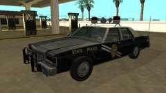 Ford LTD Crown Victoria 1987 Nuevo México SP para GTA San Andreas