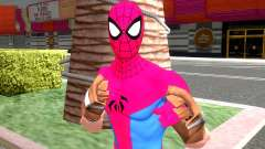 Spider Man PS4 ITSV Clan Suit para GTA San Andreas