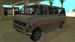 Ford Econoline E-200 1973 Van Youga GTA V