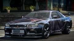 1999 Nissan Skyline R34 GT-R L5 para GTA 4