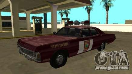Dodge Polara 1972 Minnesota State Trooper para GTA San Andreas