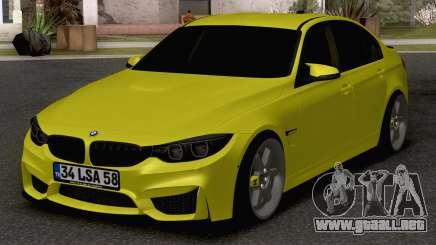 BMW M3 F80 para GTA San Andreas