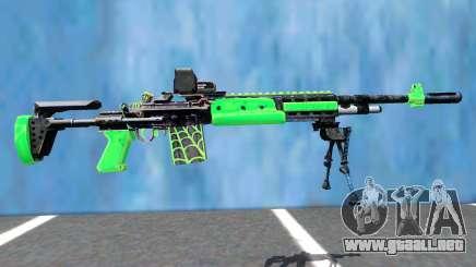 M14 EBR EOTECH VENOM para GTA San Andreas