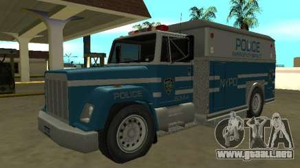 Enforcer HQ do GTA 3 Departamento de Policía de Nueva York para GTA San Andreas