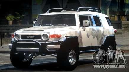 Toyota FJ Cruiser OR L10 para GTA 4