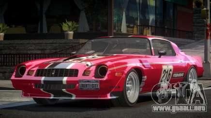 Chevrolet Camaro 70S L5 para GTA 4