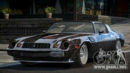 Chevrolet Camaro 70S L6 para GTA 4