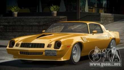 Chevrolet Camaro 70S para GTA 4