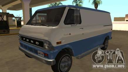 Ford Econoline E-200 1973 Van (Youga GTA V) para GTA San Andreas
