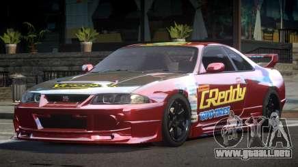 1997 Nissan Skyline R33 L5 para GTA 4