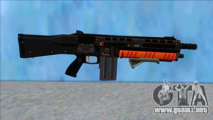 GTA V Vom Feuer Assault Shotgun Orange V10 para GTA San Andreas