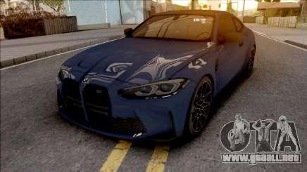 BMW M4 G82 2021 para GTA San Andreas