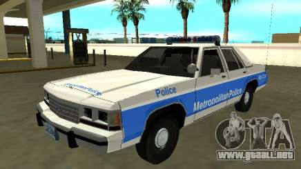 Ford LTD Crown Victoria 1991 Massachusetts Metro para GTA San Andreas