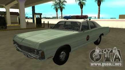 Dodge Polara 1972 Patrulla Fronteriza de los Estados Unidos para GTA San Andreas