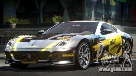 Ferrari 599 GS Racing L8 para GTA 4
