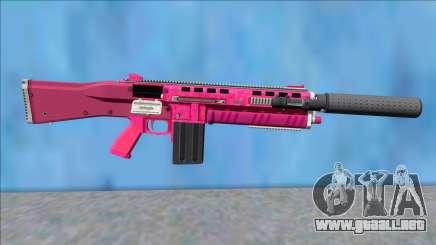 GTA V Vom Feuer Assault Shotgun Pink V2 para GTA San Andreas