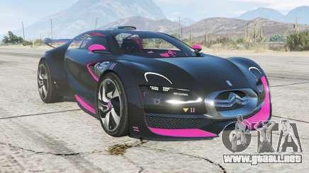Citroen Survolt concept 2010 para GTA 5