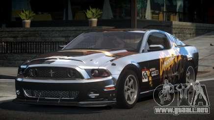 Shelby GT500 BS Racing L8 para GTA 4