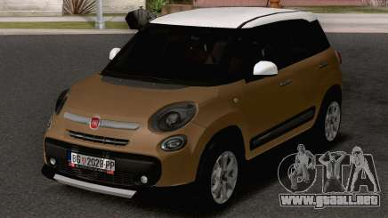 Fiat 500L Trekking para GTA San Andreas