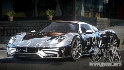 Porsche 918 Spyder SR L8 para GTA 4