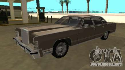 Lincoln Continental Town Car 1979 4 puertas para GTA San Andreas