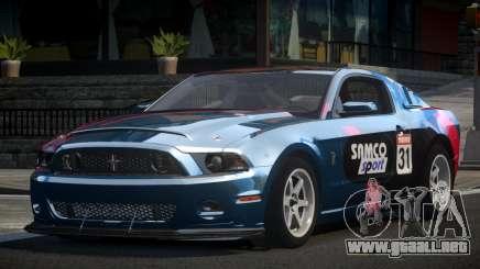Shelby GT500 BS Racing L10 para GTA 4