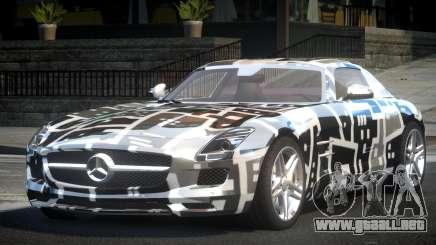 Mercedes-Benz SLS BS A-Style PJ2 para GTA 4
