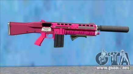 GTA V Vom Feuer Assault Shotgun Pink V4 para GTA San Andreas