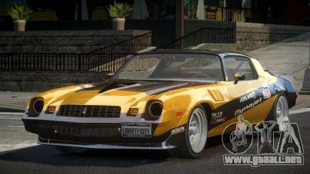 Chevrolet Camaro 70S L9 para GTA 4
