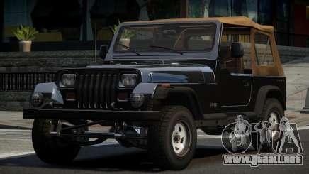 Jeep Wrangler 80S para GTA 4