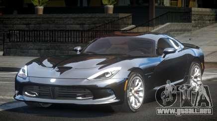 Dodge Viper SRT V1.3 para GTA 4