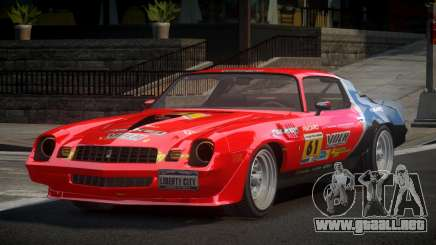 Chevrolet Camaro 70S L1 para GTA 4