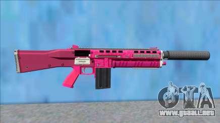 GTA V Vom Feuer Assault Shotgun Pink V8 para GTA San Andreas