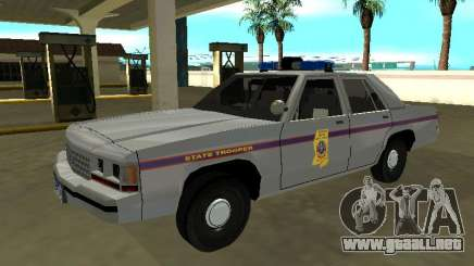 Ford LTD Crown Victoria 1991 Mississippi S T para GTA San Andreas