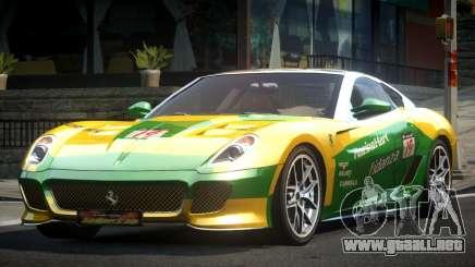 Ferrari 599 GS Racing L3 para GTA 4