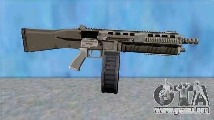 GTA V Vom Feuer Assault Shotgun Platinum V14 para GTA San Andreas