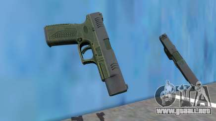 PAYDAY 2 LEO Pistol para GTA San Andreas