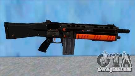 GTA V Vom Feuer Assault Shotgun Orange V15 para GTA San Andreas