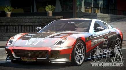 Ferrari 599 GS Racing L5 para GTA 4