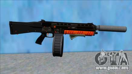 GTA V Vom Feuer Assault Shotgun Orange V3 para GTA San Andreas