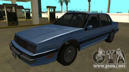 1984 Chevrolet Celebrity para GTA San Andreas