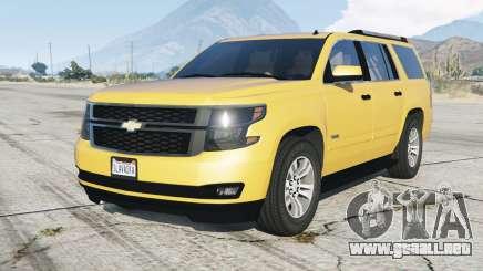 Chevrolet Tahoe 2015 para GTA 5