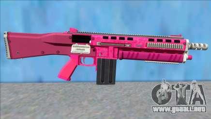 GTA V Vom Feuer Assault Shotgun Pink V15 para GTA San Andreas