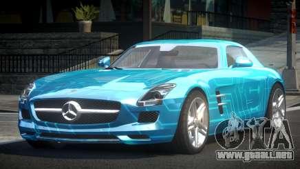 Mercedes-Benz SLS BS A-Style PJ8 para GTA 4