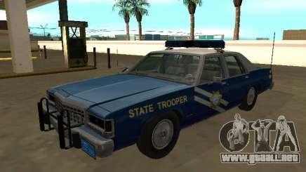 Ford LTD Crown Victoria 1987 NHP para GTA San Andreas